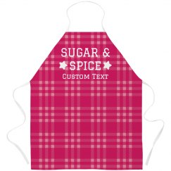 Plaid Vintage Bakery Apron