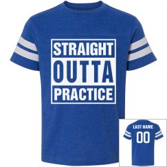 Straight Outta Soccer Youth Tee