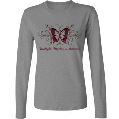 Multiple Myeloma Butterfly Shirt