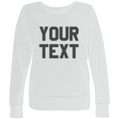Personalized Plus Size Pullover