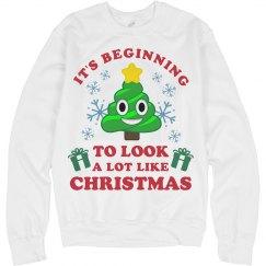 Looks A Lot Like Emoji Christmas