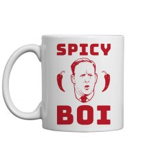 Sean Spicer Spicy Coffee Boi