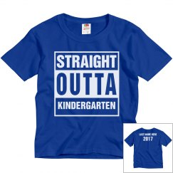 Custom Straight Outta Kindergarten