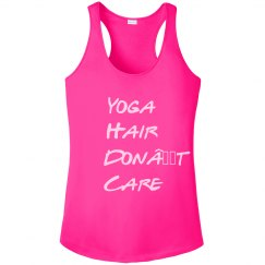Yoga hair performance shirt