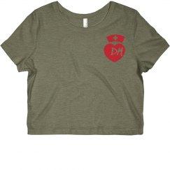 Custom Nurse Initials