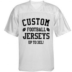 Customizable Football Jerseys!