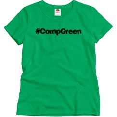#CompGreen Tee