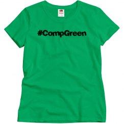 #CompGreen Tee