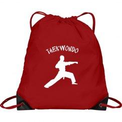 Taekwondo sling backpack