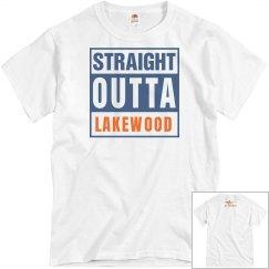 Straight Outta Lakewood/Lancer tshirt