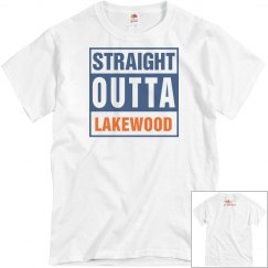 Straight Outta Lakewood/Lancer tshirt