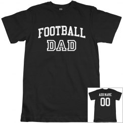 Custom Football Dad Design