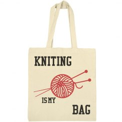 Kniting is my bag