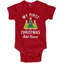 My First Christmas Personalized