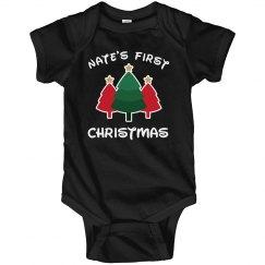 Custom Name's First Christmas