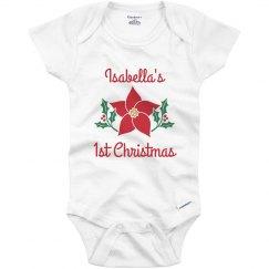 Custom Baby Name 1st Christmas