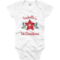 Custom Baby Name 1st Christmas
