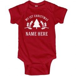 Baby's 1st Christmas Custom Name