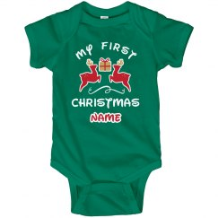 Custom Baby Gift 1st Christmas