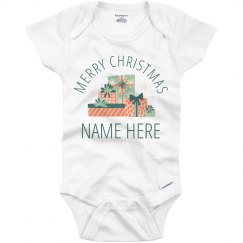 Cute Merry Christmas Baby Outfit