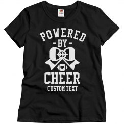 Customizable Powered by Cheer