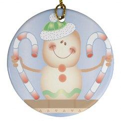 Snowman Christmas Ornamen