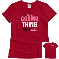 Cosmo Thing Red T