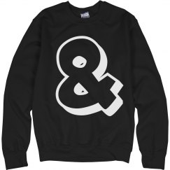 Ampersand Sweatshirt