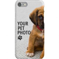 Custom Pet Photo iPhone Case
