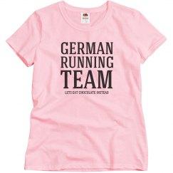 German running team
