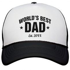 Custom World's Best Dad Gift