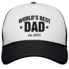 Custom World's Best Dad Gift