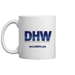 DHW Fitness Logo Mug
