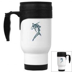 Sharked Travel Mug