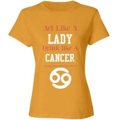 Cancer shirt