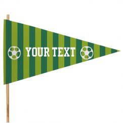 Cute Custom Soccer Flag