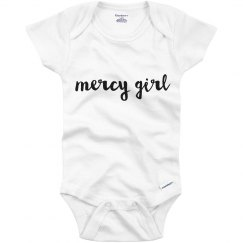 Mercy Girl Infant Onsie