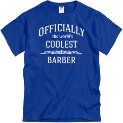Coolest barber