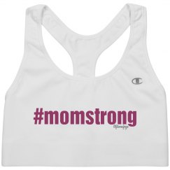 #momstrong-sports bra