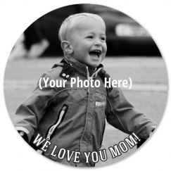 Custom Mothers Day Photo Coaster