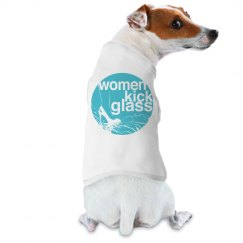 Women Kick Glass Doggie Tee