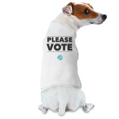 Please VOTE Doggie Tee
