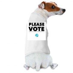 Please VOTE Doggie Tee