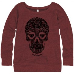 Tribal Sugar Skull Sweatshirt