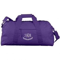 Create a Custom Monogram Dance Bag
