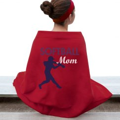 Softball Mom Blanket