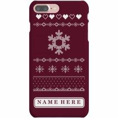 Snow Ugly Xmas Phone Case