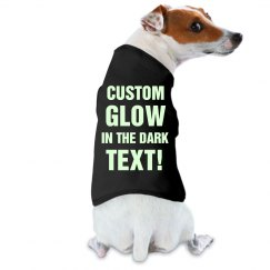 Custom Glow In Dark Dog Sweater