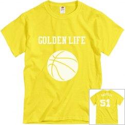 Golden Life Basketball shirts