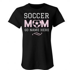 Custom Name Soccer Mom